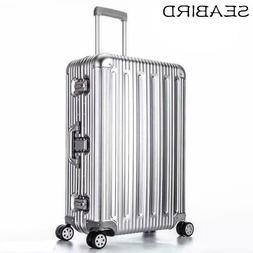 100% All Aluminum Alloy Luggage Hardside Rolling Trolley Lug