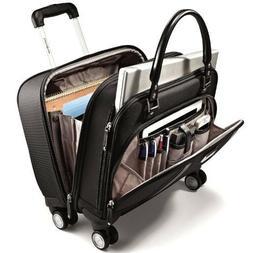 "17"" Spinner Underseat Business Case Wheeled Luggage Women La"