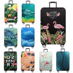 18''-32'' Elastic Flamingo Luggage Cover Protector Travel Su
