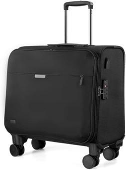 Hanke 18 Inch Rolling Laptop Briefcase Rolling Computer Case