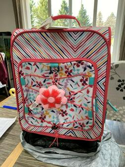 19 5 kids carry on luggage floral