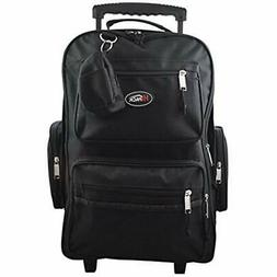 """19"""" Rolling Backpack Carry-on Luggage Wheeled Bag Overnighte"""