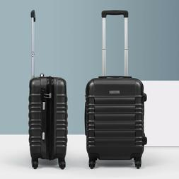 """20"""" ABS Carry On Luggage Travel Bag Trolley Suitcase Lightwe"""