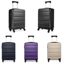20 inch Small Cabin Hand Luggage Suitcase 4 Wheels ABS Troll