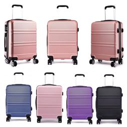 20 inch Suitcase Spinner Hard Cabin 4 Wheels Trolley Luggage