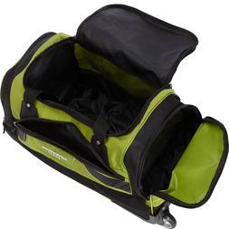 21-Inch Rolling Duffel Bag Travel Carry On Luggage Wheels Ov