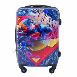 DC Comics 21 Inch Rolling Upright Hardside Spinner Luggage F