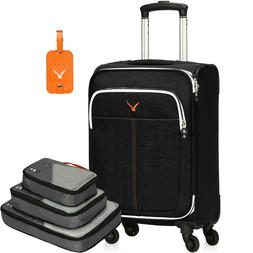 21 inch Softside Spinner Luggage Wheels Rolling Carry-On Upr