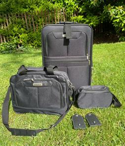 """PremiumBag 21"""" Rollaboard Carry-On set w/matching tote and"""