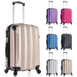 Carry on Luggage 22x14x9 Travel Lightweight Rolling Spinner