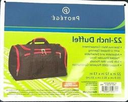 22 Inch Duffel Bag Carry On Travel Gym Cross Body Strap Lugg