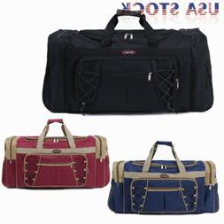 "26"" Large  Duffle Bag Carry-on Overnight GYM Travel Tote Lug"