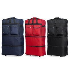 30 36 40 expandable rolling duffel bag