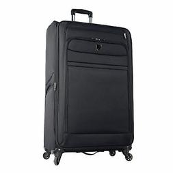 Travel Luggage 32 Inch Black Expandable Suite Case 4 Wheels