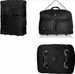 "36"" Rolling Duffle Bag Spinner Suitcase Luggage Trevel For M"