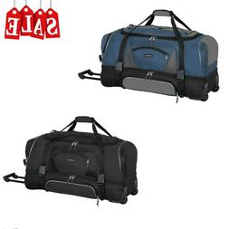 """36"""" Rolling Wheeled Duffle Bag Extra Large Travel Suitecas"""