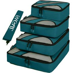 5 Set 12 Colors Packing Cubes Travel Luggage Packing Home Or