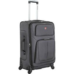 "SwissGear Travel Gear 6283 25"" Spinner Luggage 6 Colors Soft"