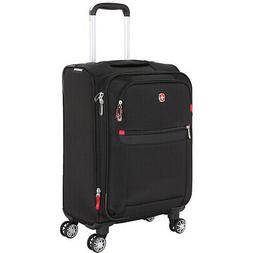 "SwissGear Travel Gear 6568 19"" Spinner Carry-On Luggage Soft"