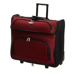 Garment Bag With Wheels For Suits Travel Carry On Suitcase R