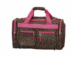 Luggage 19-Inch Travel Duffels Tote Bag, Pink Leopard, One S
