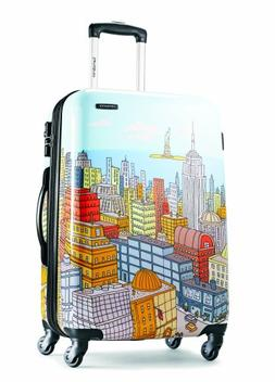 Samsonite Luggage NYC Cityscapes Spinner 28, Blue Print, One