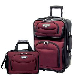 Traveler's Choice Amsterdam 2pc Carry-On Luggage Set