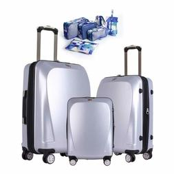Ginza Travel Anti-scratch PC Material Luggage 3 Piece Sets L