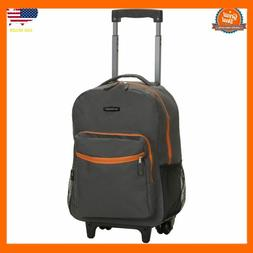 Backpack With Wheels For Boys Rolling School Travel Bag Kids
