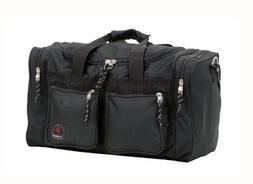 Rockland Bel-Air Black 19-inch Carry-On Tote / Duffel Bag