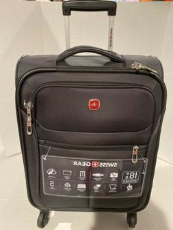 "Brand New SwissGear Travel Gear  18"" Spinner Carry-On Lugg"