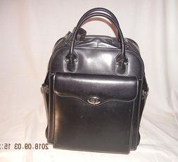 BRIEF CASE Luggage Laptop Over Night McKlein  Leather  Remov