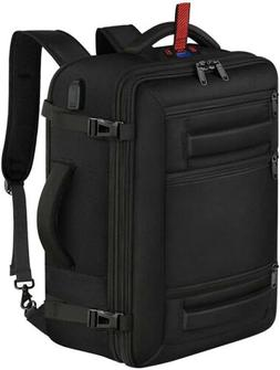 Matein Carry On Backpack Expandable W/digital Scale, 40L Cap