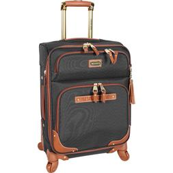 Steve Madden Carry On Softside Expandable Luggage With Spinn