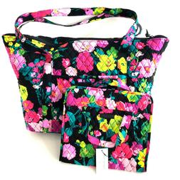 Vera Bradley Carry On Travel Tote AND Hanging Organizer Set