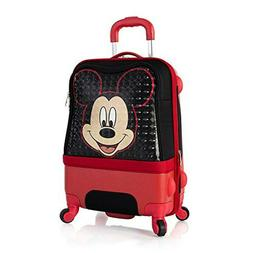 Disney Clubhouse 21 Inch Hybrid Carry on Spinner Luggage for