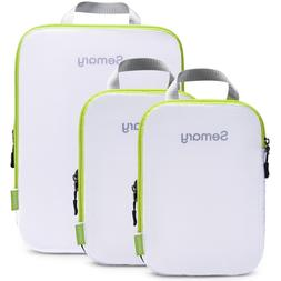 Compression Packing Cubes 3 Set Travel Organizer Accessories