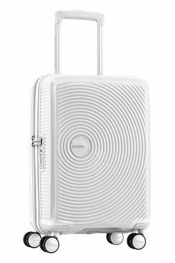 "American Tourister Curio White 20"" Spinner Travel Hardside C"
