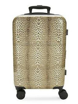 Designer Roberto Cavalli Classic Logo Leopard Cheetah TSA Ca