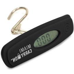 Miami CarryOn Digital Hanging Luggage Scale -  Travel Scale,