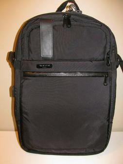 Duchamp, London, England Black ExLg Laptop Backpack-Suitcase