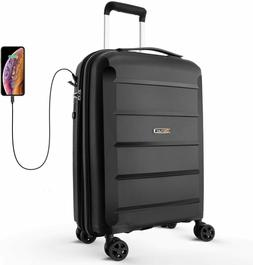 expandable luggage 20 inch pp carry on