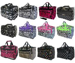 FASHION DUFFLE BAG LUGGAGE CARRY-ON BAGGAGE TRAVEL OVERNIGHT