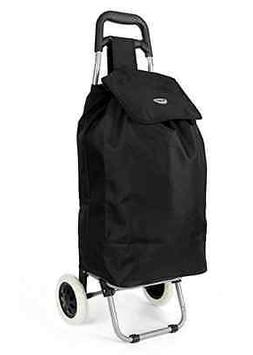 Folding Shopping Trolley Cart Bag Wheeled Rolling Utility Lu