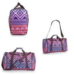 Girls Travel Duffle Bag Women Hand Baggage Carry On Luggage