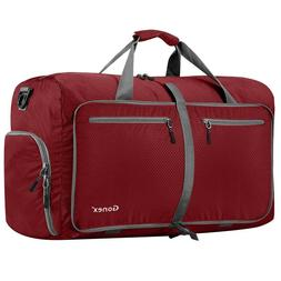 gonex 80l foldable travel duffel bag