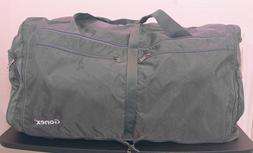 gray weekender bag foldable waterproof outdoor bag