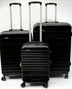 AmazonBasics Hardside Expandable Spinner Luggage 3 Piece Set