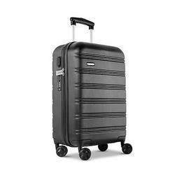 REYLEO Hardside Spinner Luggage 20 Inch Carry On Travel Suit