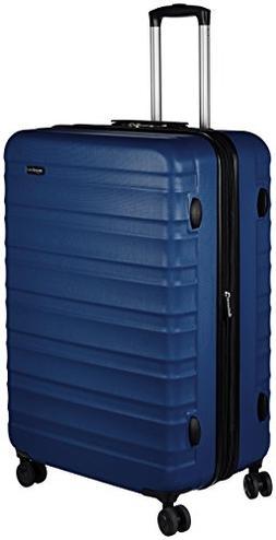 AmazonBasics Hardside Spinner Luggage -  28-Inch, Navy Blue